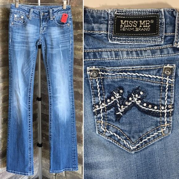 d463cc2422e9e8 Miss Me Jeans | Size 25 X 33 Denim Boot Cut | Poshmark